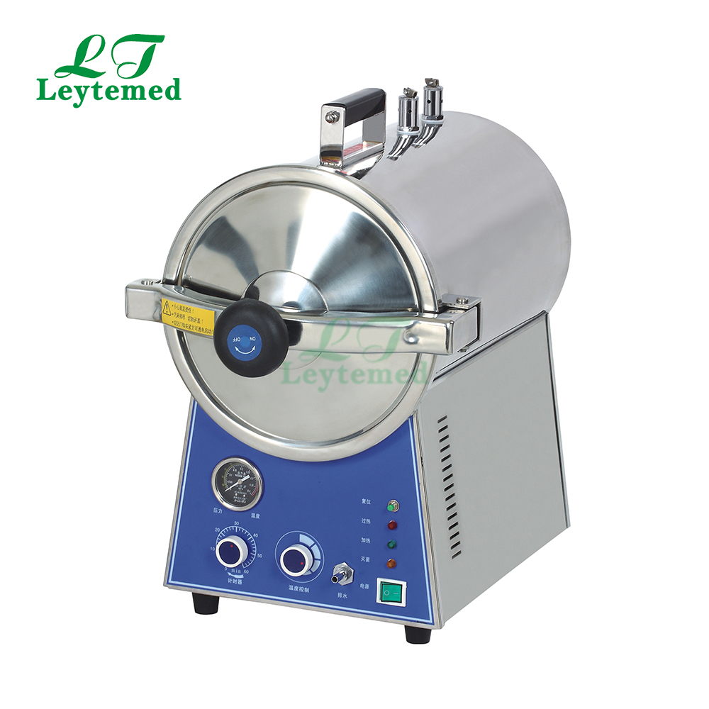 LT-T16J 16L 24L Table Top Steam Sterilizer