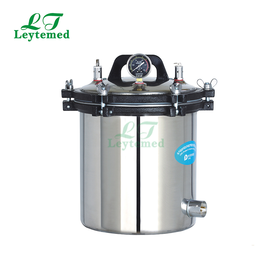 LT-18LM stainless steel Portable Pressure steam aterilizer