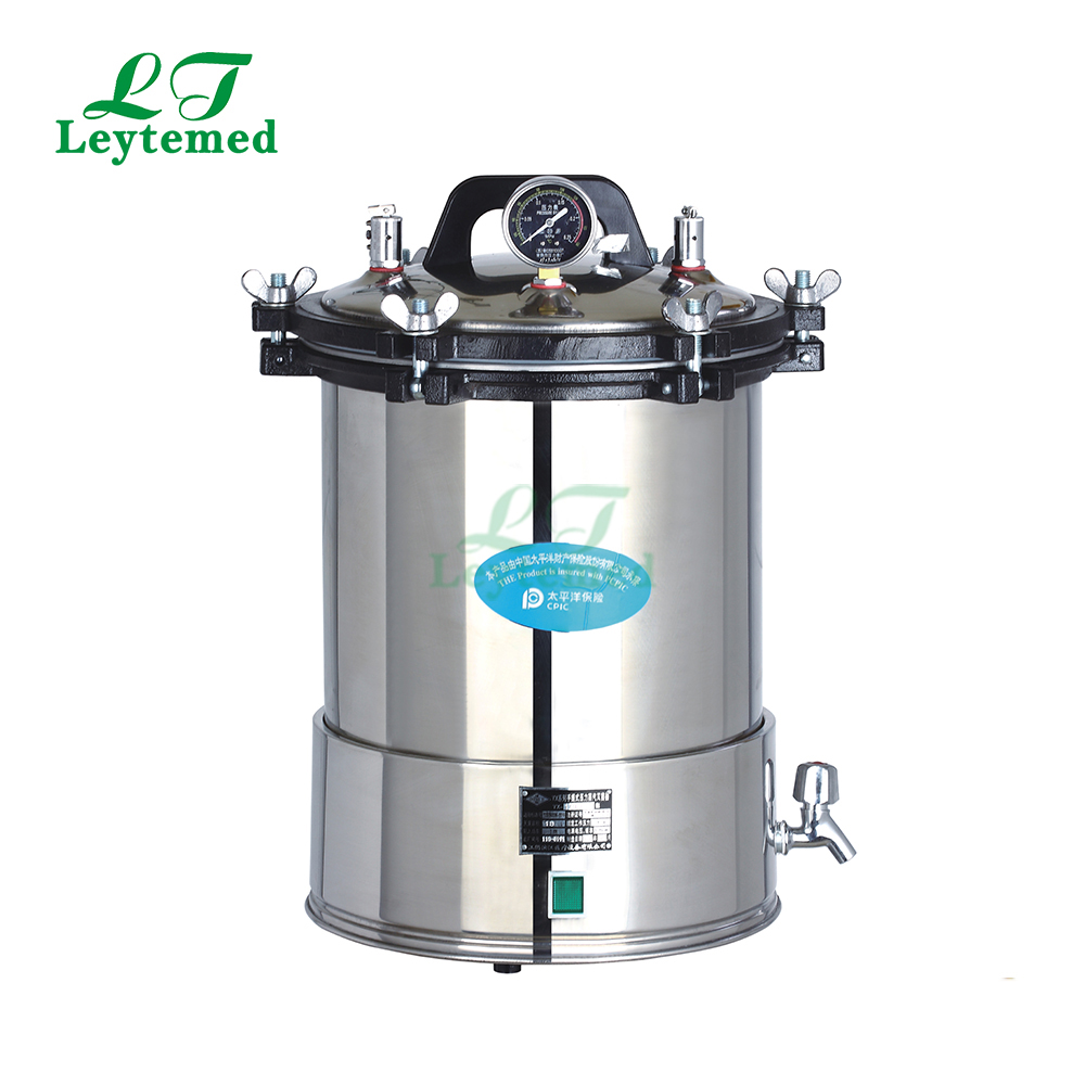 LT-18LD Hospital Portable pressure autoclave steam sterilizer