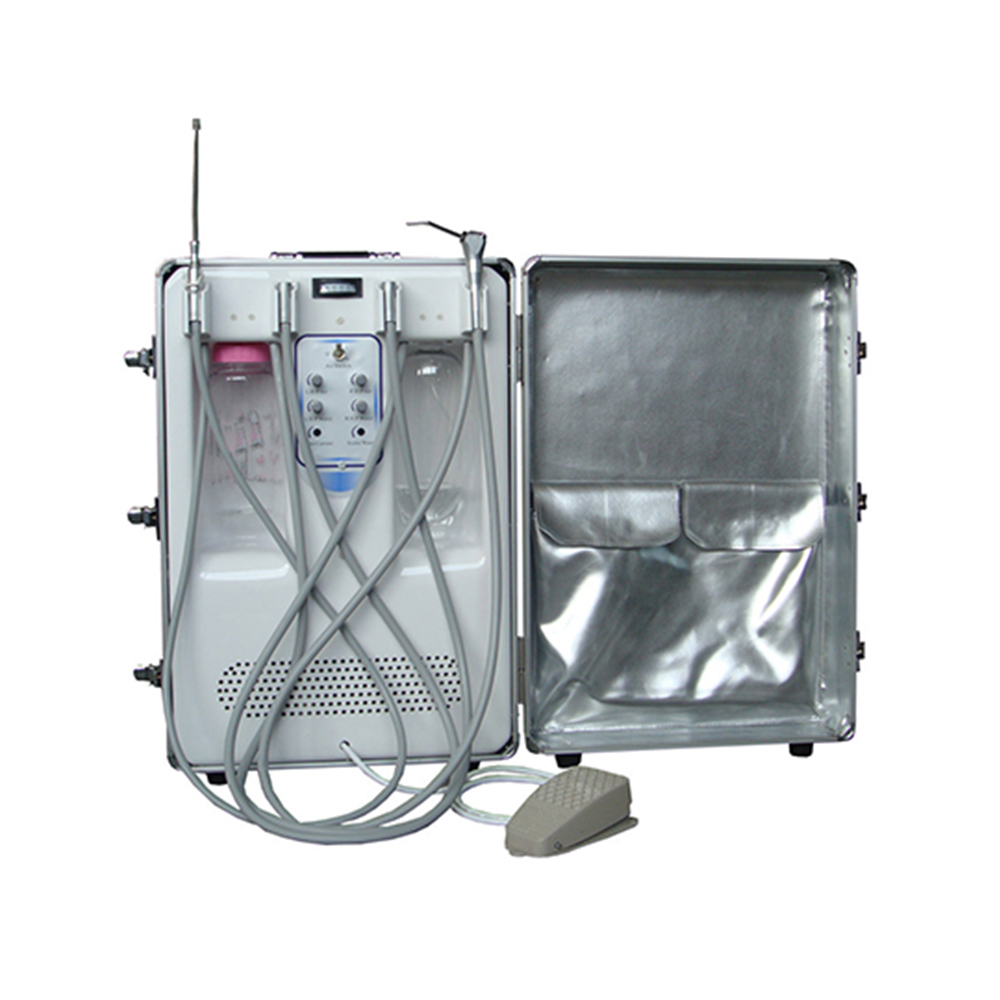 LTDC09A with Oiless Air Compressor Motor electricity Portable Dental treatment Unit