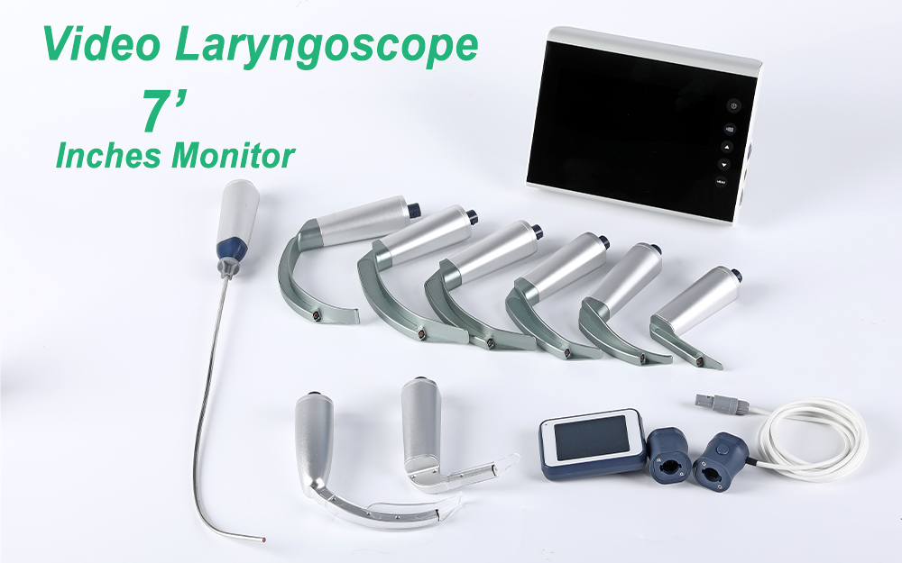 New large screen video laryngoscope