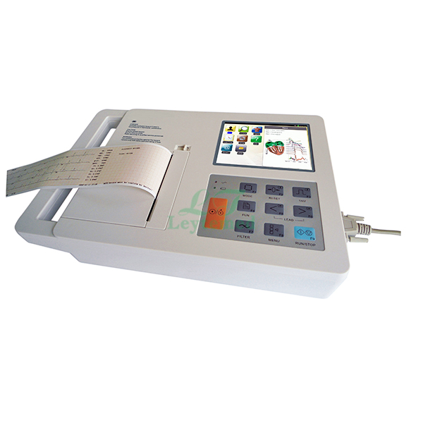 LTSE20 3 Channel 5.7 Inches Electrocardiograph (ECG)