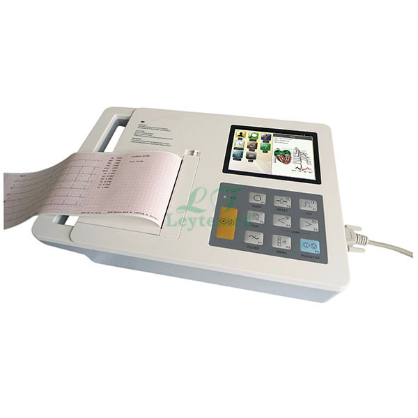 LTSE21 6 Channel 5.7 Inches Electrocardiograph (ECG)