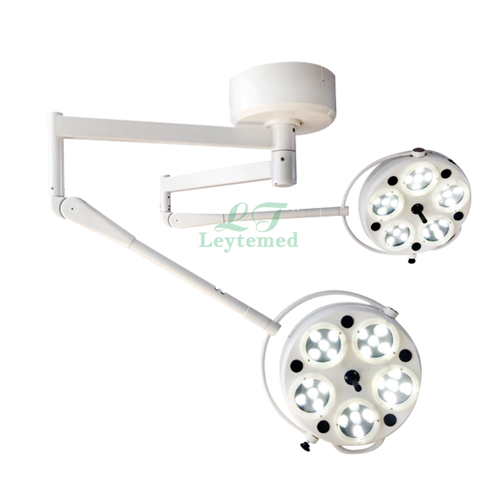 LTSL39 ceiling mount 5+5Holes double head led shadowles operating lamp